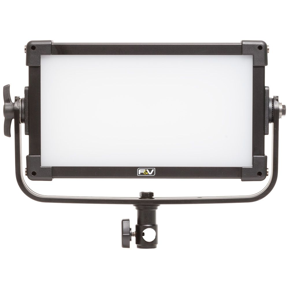 F&V Ultracolor Z200S Soft Bi-color Half-Panel LED Light with AC Adapter (V-Mount)