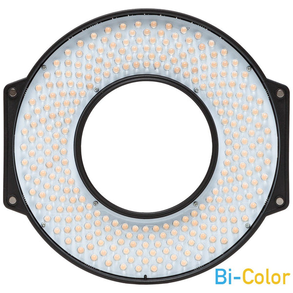 F&V R-300S SE Bi-Color LED Ring Light with Lens Mount and Carrying Case