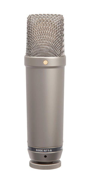 RODE NT1-A Cardioid Large-Diaphragm Condenser Microphone - Audio - RØDE - Helix Camera
