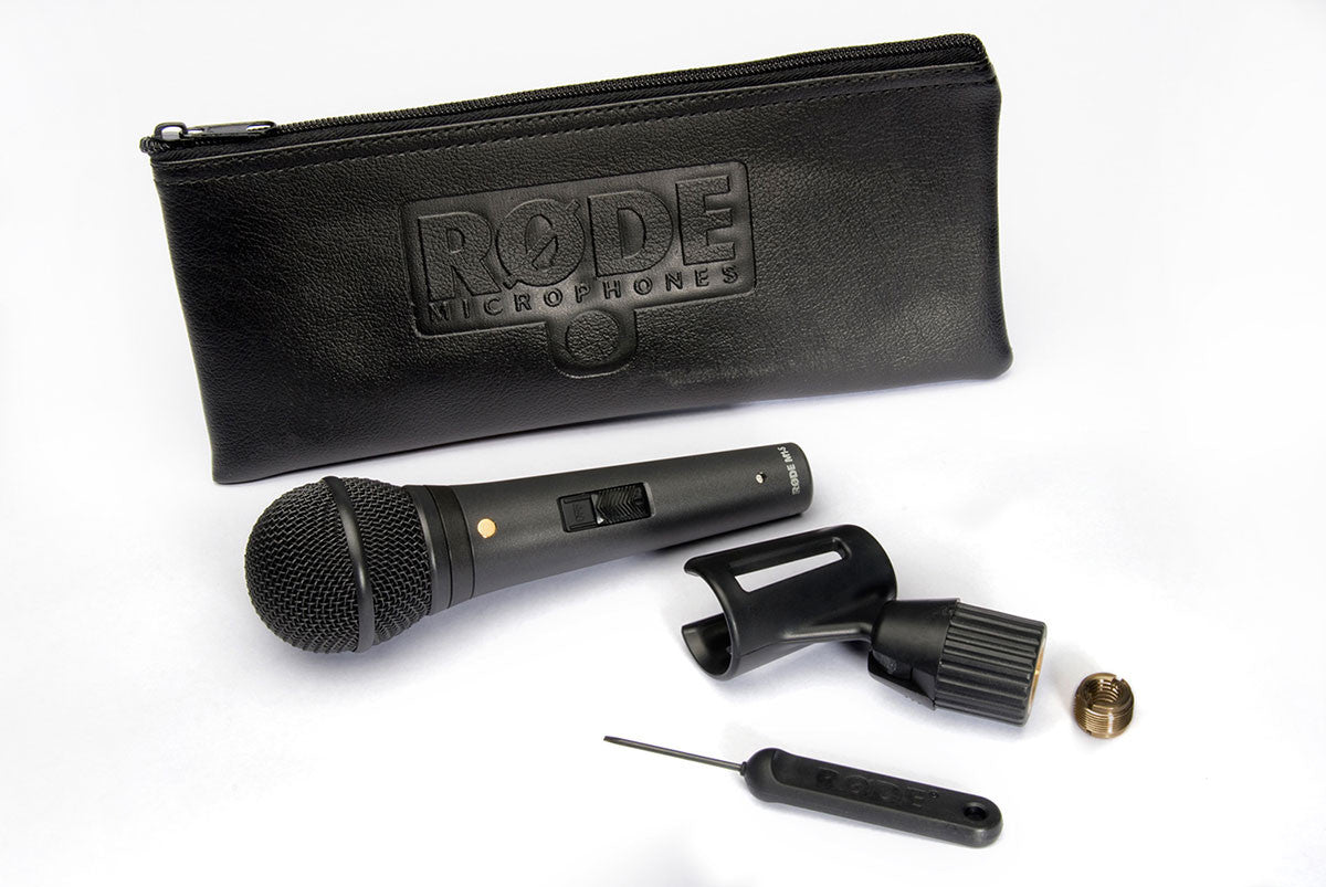 RODE M1-S Dynamic Live Performance Lockable Low-Noise Switch - Audio - RØDE - Helix Camera