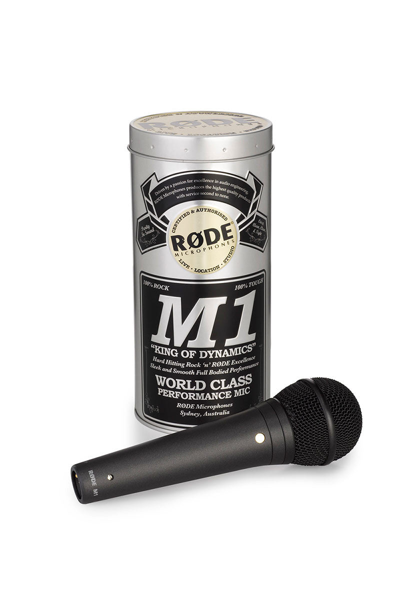 RODE M1 Dynamic Handheld Stage Microphone - Audio - RØDE - Helix Camera