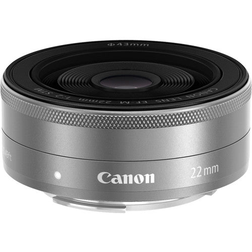 Canon EF-M 22mm f/2 STM (Silver) 9808B002