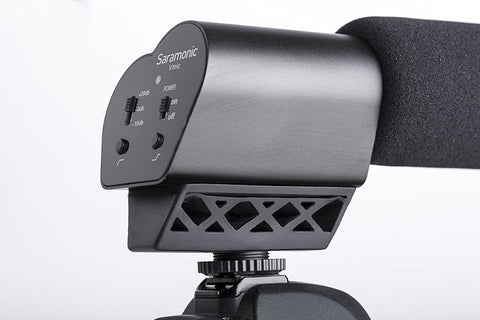 Saramonic VMIC Pro Advanced On-Camera Shotgun Microphone for DSLRS, Mirrorless, Video Cameras & Audio Recorders