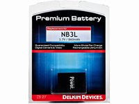 Delkin Devices Canon NB-3L Rechargeable Battery ( DD/NB3L ) - Photo-Video - Delkin - Helix Camera