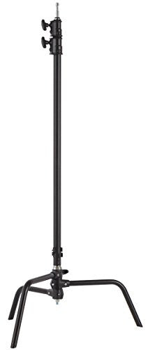 "Studio-Assets 40"" Double Riser C-Stand (Black) - Lighting-Studio - Studio-Assets - Helix Camera"