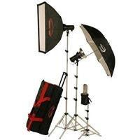 Photogenic AKC850K StudioMax 800W/S Portrait Studio 3 Light Soft Box Kit - Lighting-Studio - Photogenic - Helix Camera