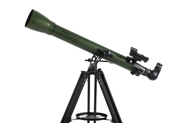 Celestron ExploraScope 60AZ Telescope - Telescopes - Celestron - Helix Camera