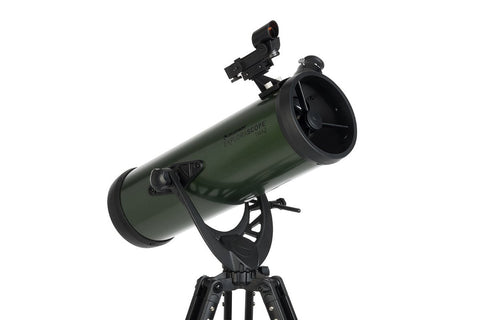 Celestron ExploraScope 114AZ Telescope - Telescopes - Celestron - Helix Camera