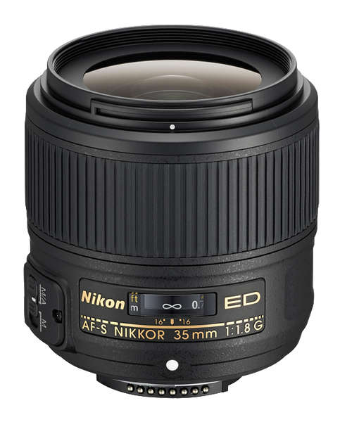 Nikon AF-S Nikkor 35mm f1.8G ED - Photo-Video - Nikon - Helix Camera