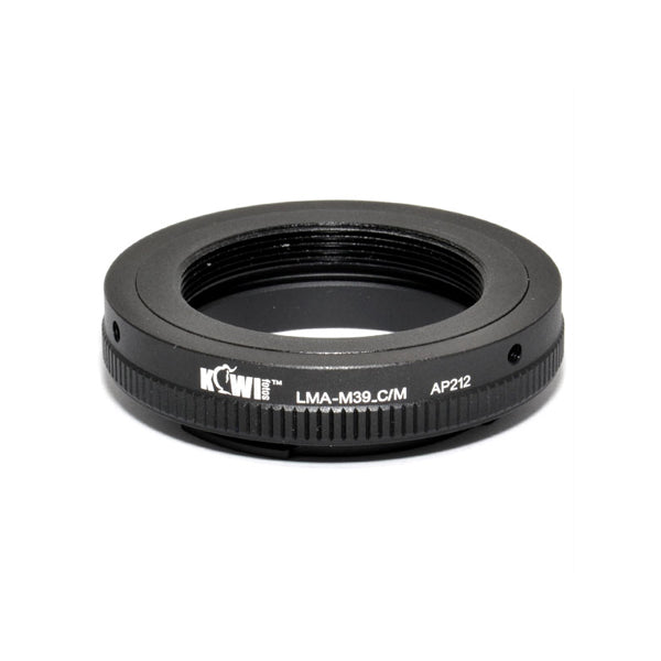 Kiwifotos Mount Adapter - Leica M39 Screw Mount to Canon M