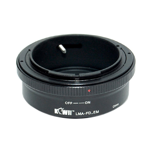 Kiwifotos Mount Adapter - Canon FD to Sony E-Mount