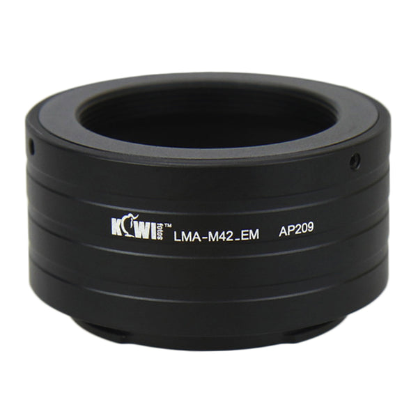 Kiwifotos Mount Adapter - M42 Screw Mount to Sony E-Mount