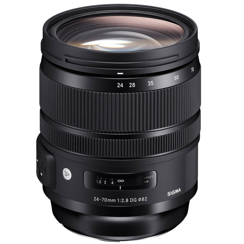 Sigma 24-70mm f2.8 DG OS HSM ART (Canon) - Photo-Video - Sigma - Helix Camera