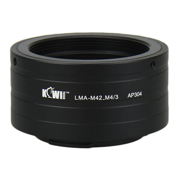 Kiwifotos Mount Adapter - M42 Screw Mount to Micro 4/3