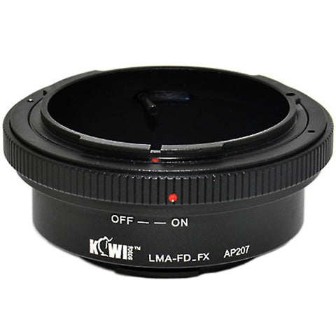 Kiwifotos Mount Adapter - Canon FD to Fuji X