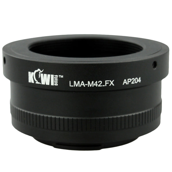 Kiwifotos Mount Adapter - M42 Screw Mount to Fuji X