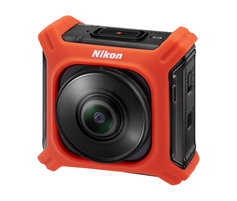 Nikon KeyMission CF-AA1 Silicone Jacket (Orange)