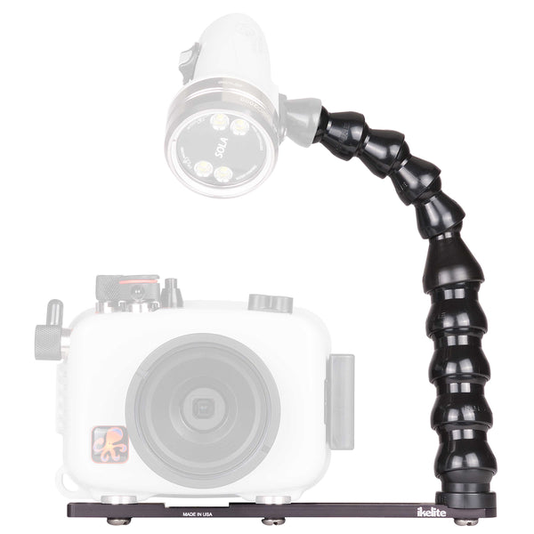 Ikelite Action Tray II with Light Arm for ULTRAcompact Housings - Underwater - Ikelite - Helix Camera