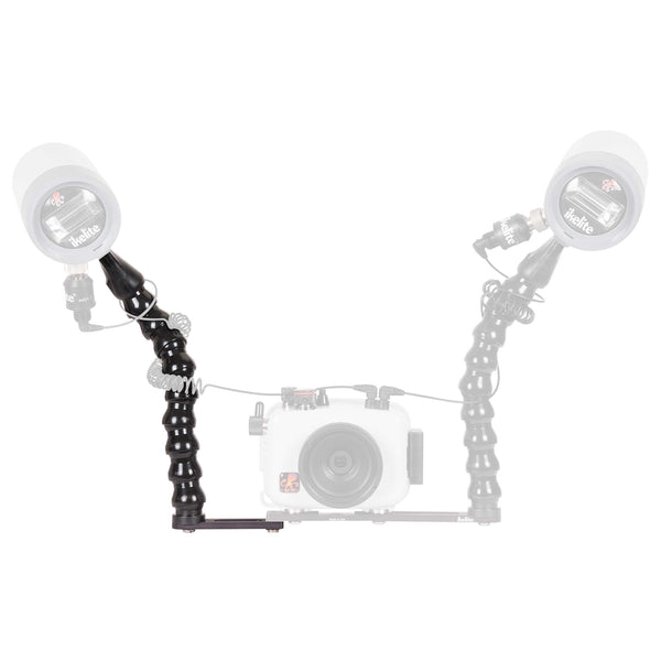Ikelite Action Tray II Extension with DS51 Strobe Arm for ULTRAcompact Housings - Underwater - Ikelite - Helix Camera