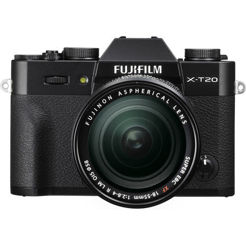 Fujifilm X-T20 Mirrorless Camera & XF 18-55mm f2.8-4.0 - Black