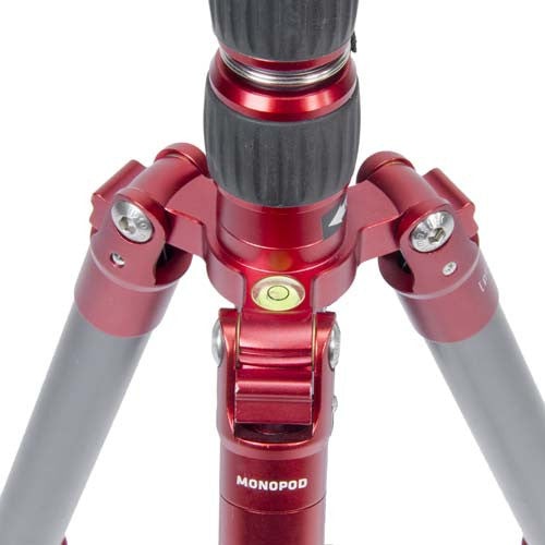 ProMaster Professional XC522 Tripod with Ball Head - Red - Photo-Video - ProMaster - Helix Camera