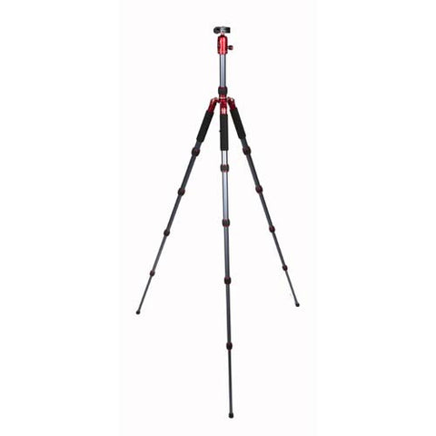 ProMaster Professional XC525 Tripod with Ball Head - Red - Photo-Video - ProMaster - Helix Camera