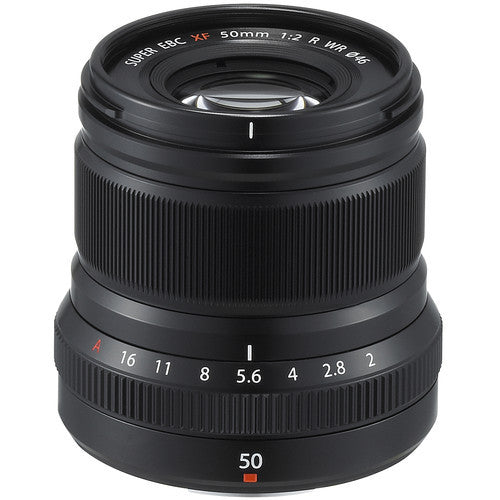 Fujinon XF 50mm F2 R WR - Black - Photo-Video - Fujifilm - Helix Camera