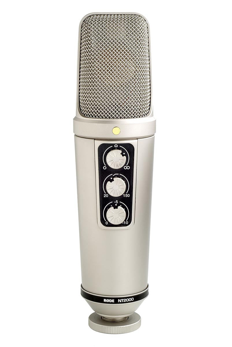 RODE NT2000 Variable Pattern Studio Condenser Microphone - Audio - RØDE - Helix Camera