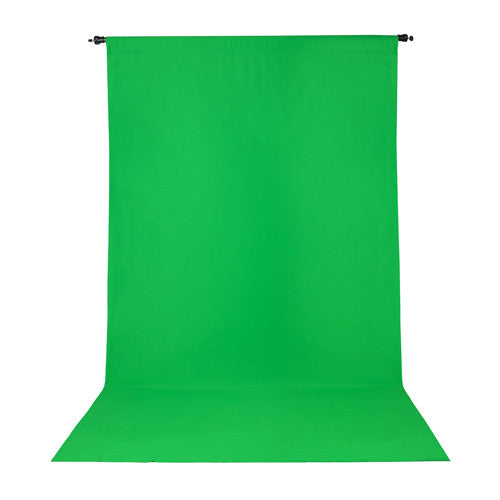 ProMaster Wrinkle Resistant Backdrop - 10'x20' - Chroma Key Green - Lighting-Studio - ProMaster - Helix Camera