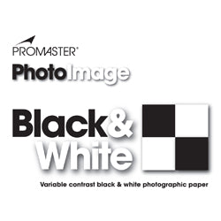 "PROMASTER B&W Photo Paper 8"" x10"" E Luster 25 sheets - 8 x 10'' Luster - 25 Sheets"