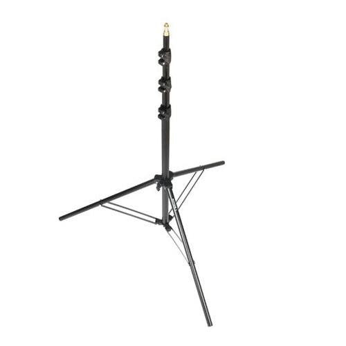 Bowens Air Cushioned Compact Black Light Stand, 10' Max Height