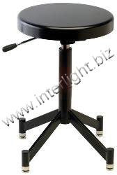 Photogenic Pneumatic Posing Stool with Glides & 4 Leg Steel Base. (PG341B) - Lighting-Studio - Photogenic - Helix Camera