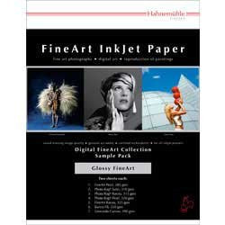 Hahnemuhle FineArt Glossy Inkjet Paper Sample Pack (8.5 x 11 In., 14 Sheets)