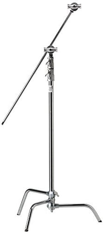 "Kupo 40"" Sliding Leg Kit (Stand, 2.5"" Grip Head & 40"" Grip Arm with Hex Stud) - Silver - Lighting-Studio - Kupo - Helix Camera"