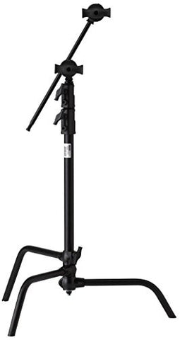 "Kupo 20"" Sliding Leg Kit (Stand, 2.5"" Grip Head & 20"" Grip Arm with Hex Stud) - Black - Lighting-Studio - Kupo - Helix Camera"