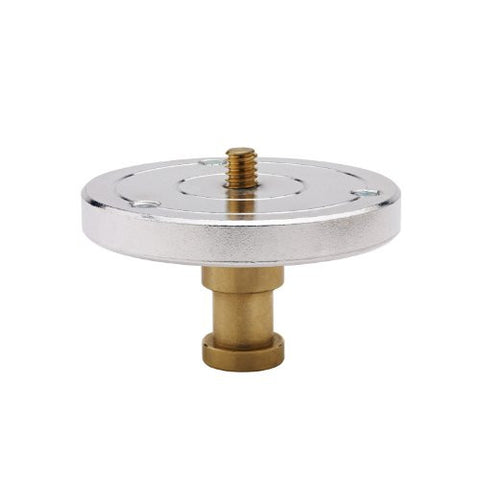 Kupo 1/4 Inches-20 Threaded Mounting Plate with Baby 5/8 Feet Feet (16mm) Stud KG002412 - Lighting-Studio - Kupo - Helix Camera