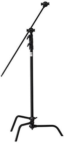 "Kupo 40"" Sliding Leg Kit (Stand, 2.5"" Grip Head & 40"" Grip Arm with Hex Stud) - Black - Lighting-Studio - Kupo - Helix Camera"