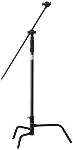 "Kupo 40"" Turtle Base Kit (Stand, 2.5"" Grip Head & 40"" Grip Arm with Hex Stud) - Black - Lighting-Studio - Kupo - Helix Camera"