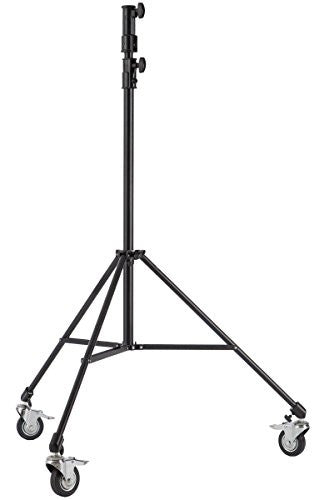 Studio-Assets 7' Junior Double Riser Stand with Casters