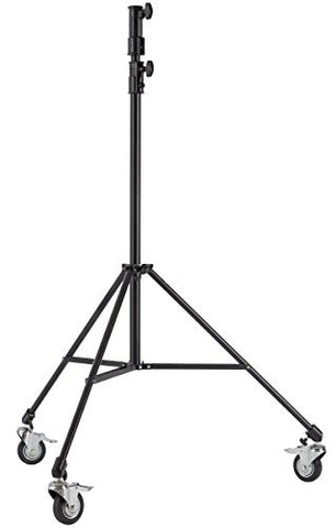 Studio-Assets 7' Junior Double Riser Stand with Casters - Lighting-Studio - Studio-Assets - Helix Camera