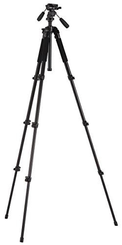 Studio-Assets 3-Way Head with Medium Photo Tripod Kit