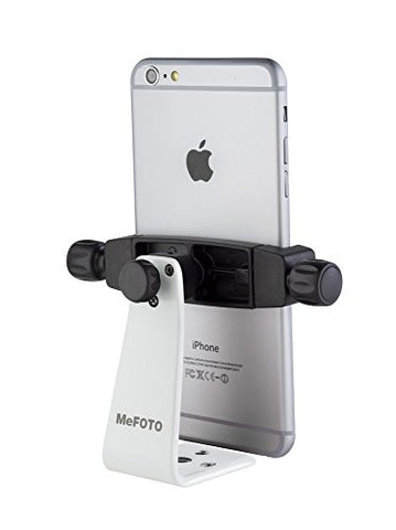 MeFOTO MPH200W SideKick 360 Plus Smartphone Adapter White (WHITE)