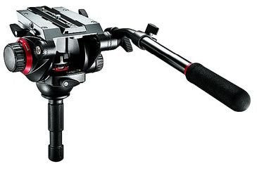 Manfrotto 504HD Video Head (Black) - Lighting-Studio - Manfrotto - Helix Camera