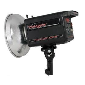 Powerlight 1250DR UV-Corrected Monolight (120VAC), 915871, Monolight Lighting - Photo-Video - Photogenic - Helix Camera