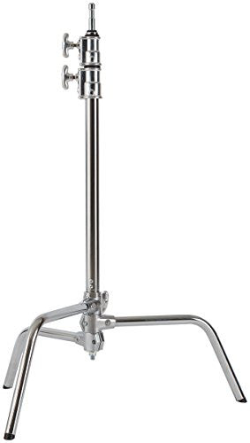 "Studio-Assets 20"" Double Riser C-Stand (Chrome)"