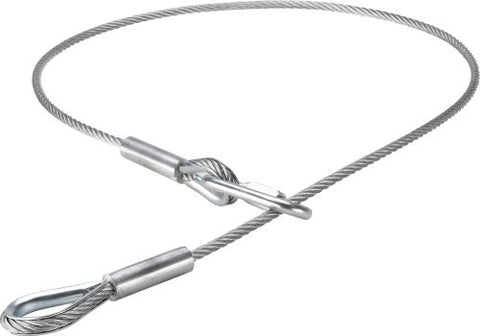 Kupo 105cm long PVC Coated Safety Wire -5.0mm Diameter, KG061112 - Lighting-Studio - Kupo - Helix Camera