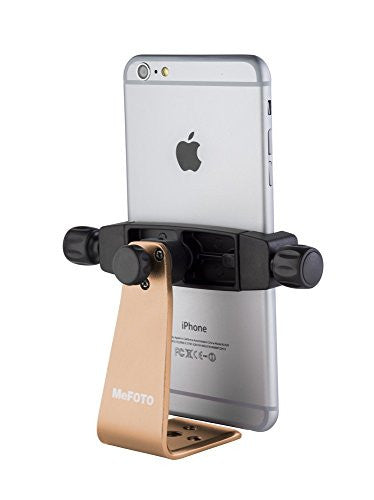 MeFOTO MPH200A SideKick 360 Plus Smartphone Adapter Gold (GOLD)