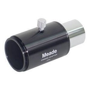 Meade 07356 SLR 1.25-Inch Basic Camera Adapter for Refractor and Reflector Telescopes (Black) - Telescopes - Meade - Helix Camera