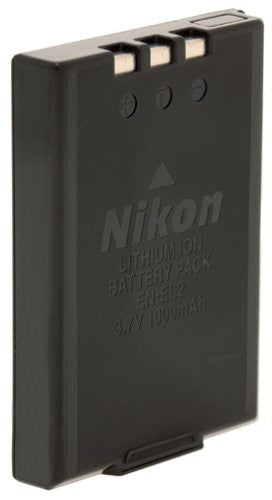 Nikon EN-EL2 Rechargeable Battery (for Nikon Coolpix 2500, 3500, SQ, Digital Cameras), #9904 - Retail Packaging - Photo-Video - Nikon - Helix Camera