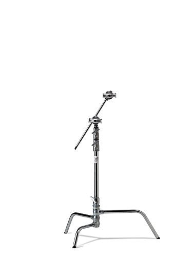 "Kupo 20"" Turtle Base Kit (Stand, 2.5"" Grip Head & 20"" Grip Arm with Hex Stud) - Silver - Lighting-Studio - Kupo - Helix Camera"